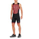 2XU Perform Front Zip Trisuit Men black/kona team red